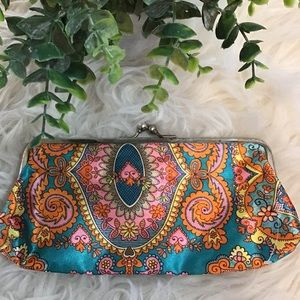 Vintage 60s Mod Psychedelic Clutch
